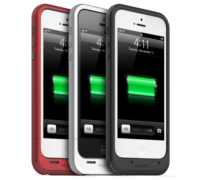 Mophie klar med Juice Pack Plus til iPhone 5
